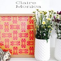 Claire Monica :1 frame and 5 prints valued 100 eur