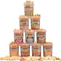 Allenbrands gourmet popcorn-A sample pack valued at 34 eur!