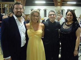 David Butt Philip, Lauren Fagan, Andrew Griffiths and Leanne Singh-Levett