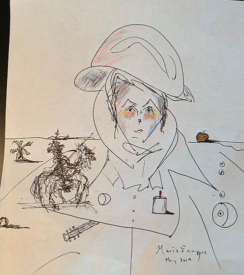 Troubadour in Dalínian Mindscape