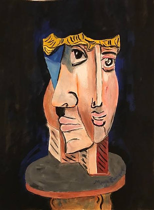 A Wooden Picasso