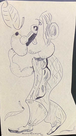 Cubist Troubadour