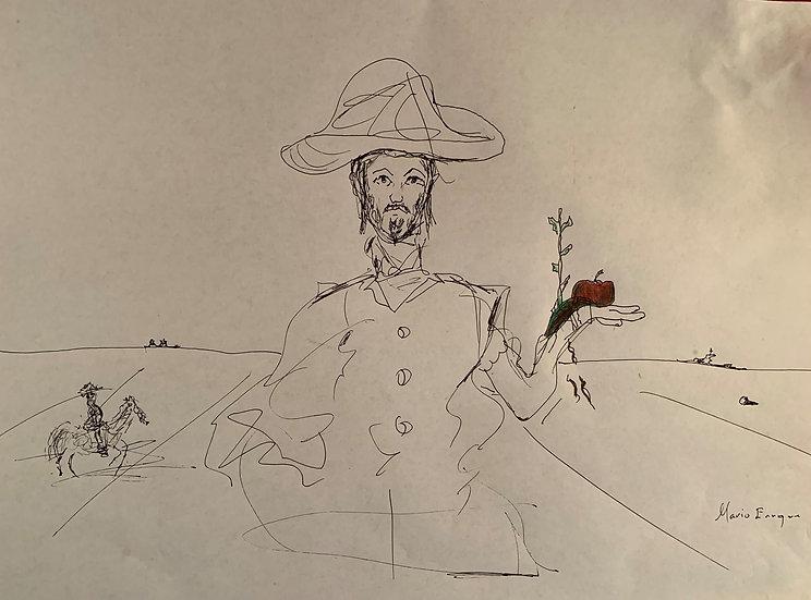 Athos in Dalínian Mindscape