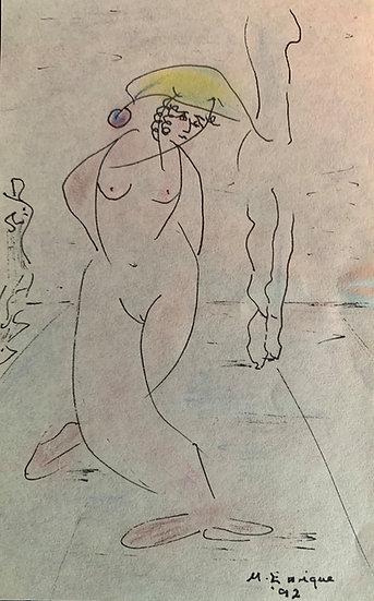 Arlequina Desnuda (Nude Harlequin)