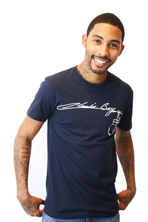 Claudie Boy Dark Blue T-Shirt