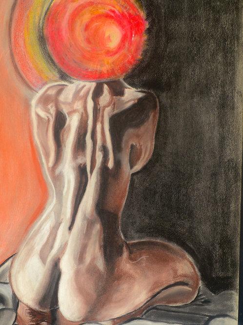 """Sun Goddess"" Print"
