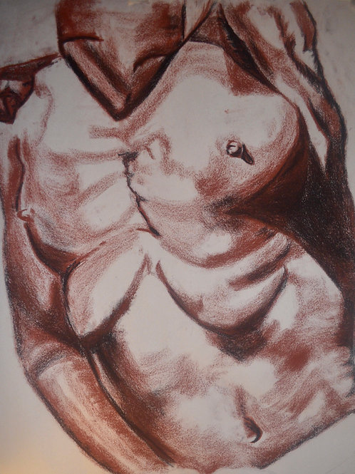 """Figure Drawing"" Print"