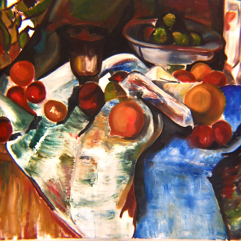 """""""Fruit and Wine"""" Print"""