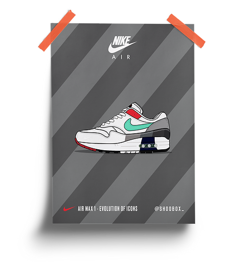 AIR MAX 1 - EVOLUTION OF ICONS