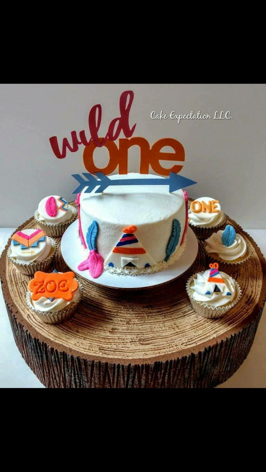 Wild ONE Cake/Cupcake Table Display