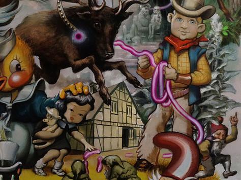 """Ausstellung """"LITTLE MISSERIES"""" by Max Siebel"""