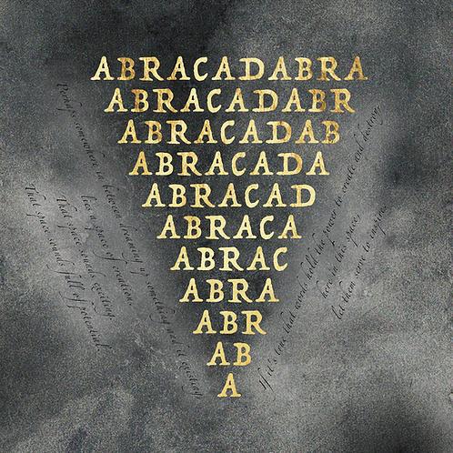 Abracadabra Paper