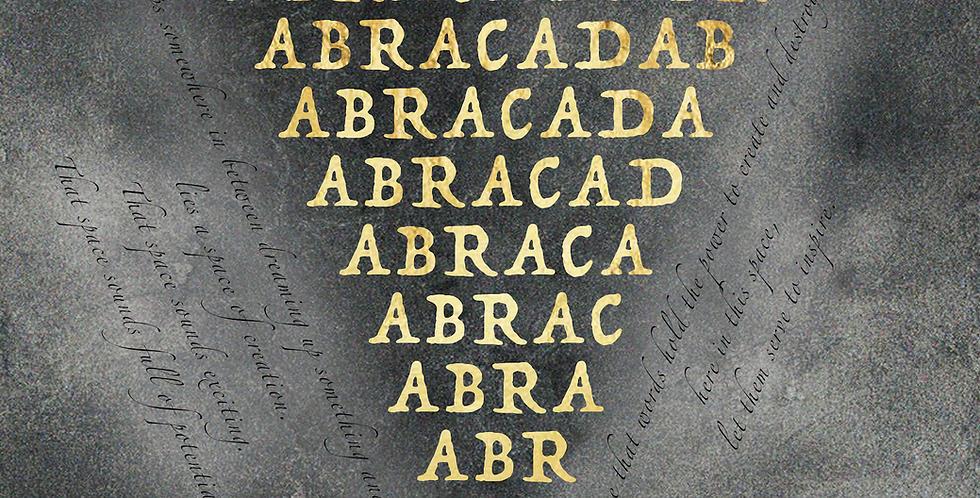 Abracadabra Invocation Print