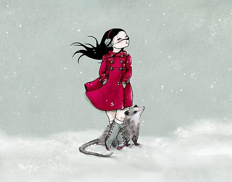 I love my new winter coat
