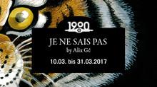 """Ausstellung """"JE NE SAIS PAS"""" by Alix Gé"""