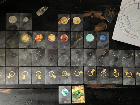 The most personal spread EVER   Astrological Birth Chart Spread