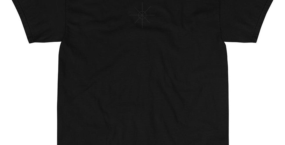 Black Tee w/ Black Embroidered Logo