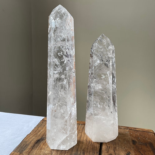 Clear Quartz Towers (The Guardians)