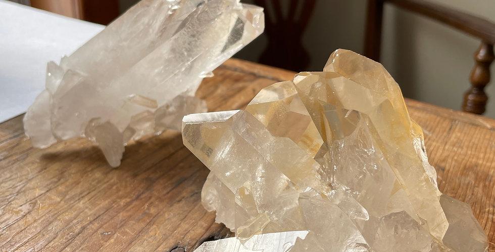 Golden Healer Quartz (Cluster)