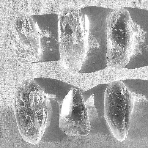 Clear Quartz Freeforms