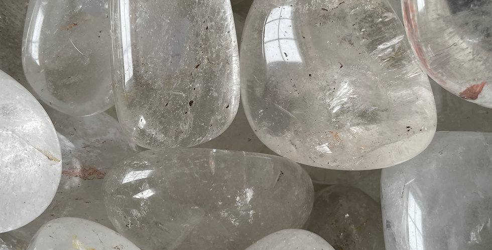 Clear Quartz (Pebble Palms)