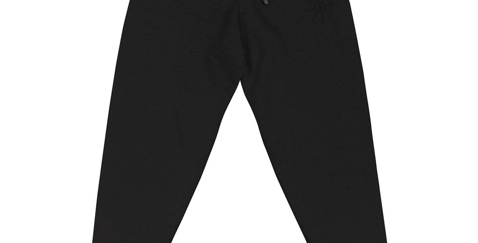 Black Joggers w/ Black Embroidered Logo