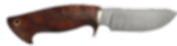 Damstmesser Jagdmesser handgeschmiedet mit Lederscheide