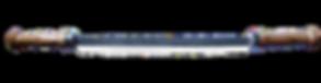 handgeschmiedete Zugmesser mit Lederscheide