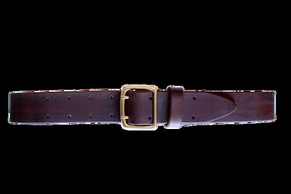 Thalyz Ledergürtel schokoladebraun