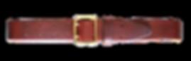 Leergürtel saddle tan