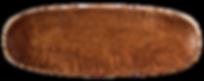 Holzschale handgemacht länglich Deko