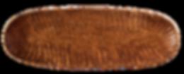 geschnitzte Holzschale aus Ulme