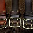 handgemachte Ledergürtel aus Rindsleder für Herren