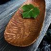 geschnitzte Holzschale aus Ulmenholz