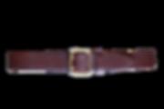 Thalyz Ledergürtel Walnussbraun