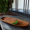 handgefertigte Holzschale aus Ulmenholz