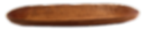 längliche Holzschale zur Deko
