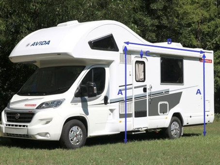 How to Measure your Motorhome to Fit the Right-Sized Awning