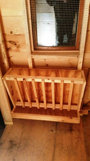 Goat Barns Built in Maine.  Delivery Avaiable in Tri-State Area.