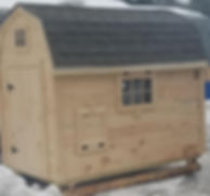 Barn Chicken Coop, comes with weathervane.  Delivery to Maine, Massachusetts, New Hampshire