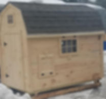 Barn Chicken Coop | Built in Maine | Delivery Available