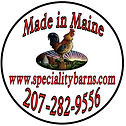 Maine Built Chicken Coop Goat Barn Deliver in Maine, Massassushetts, New Hampsire