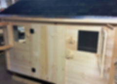 Chicken Coops Built in Maine.  Delivery to Maine, Massachusetts, New Hampshire