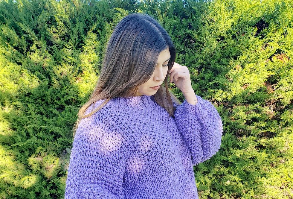 Sweater Basic Lila