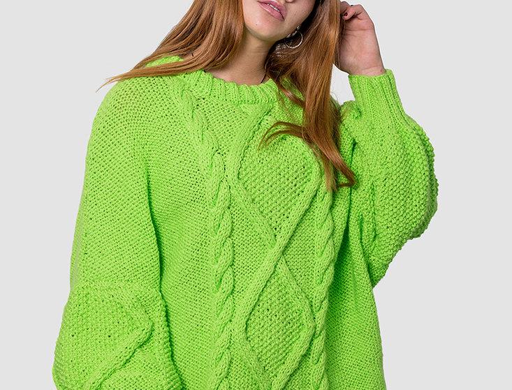 Maxi Sweater Lemon