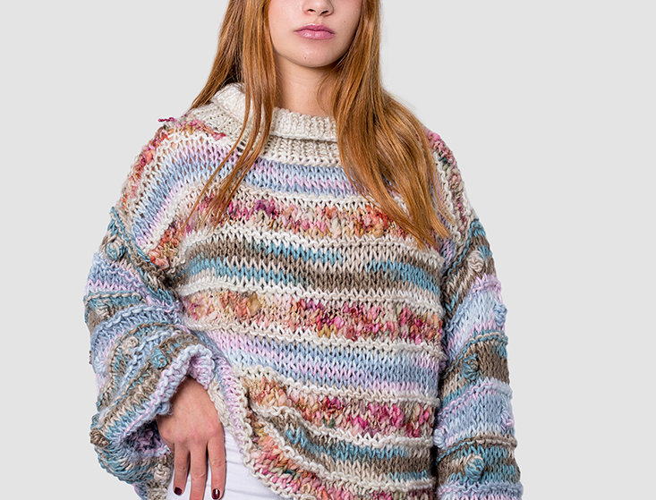 Sweater Oversize Pastel
