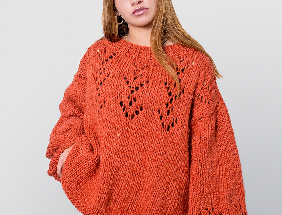Sweater Raissa Terracota