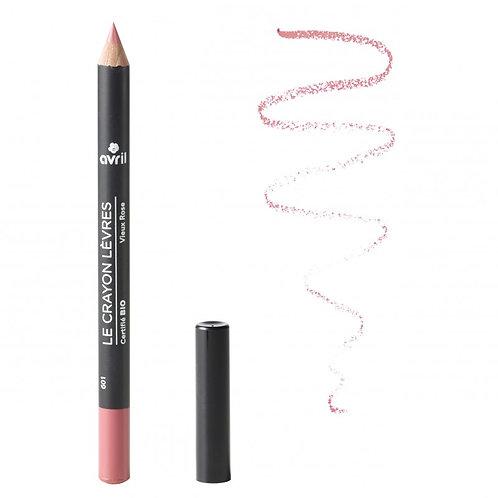 Crayon contour des lèvres vieux rose