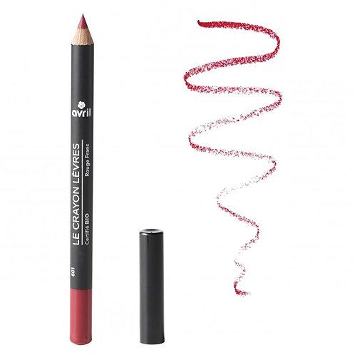 Crayon contour des lèvres Rouge franc