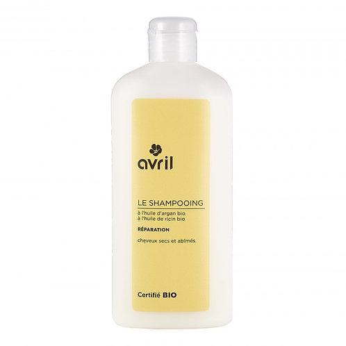 Shampooing cheveux secs bio
